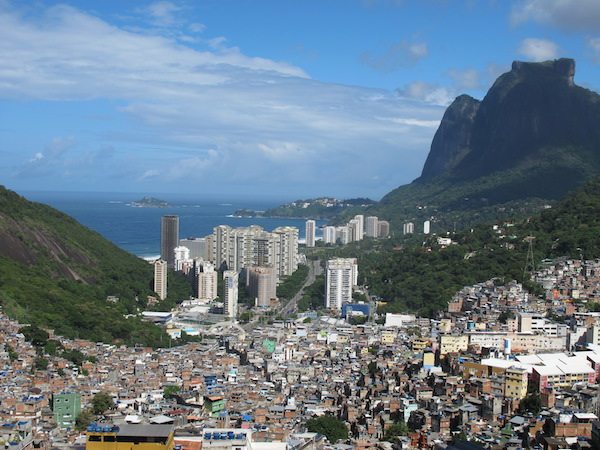 Rio offers a stunning landscape.
