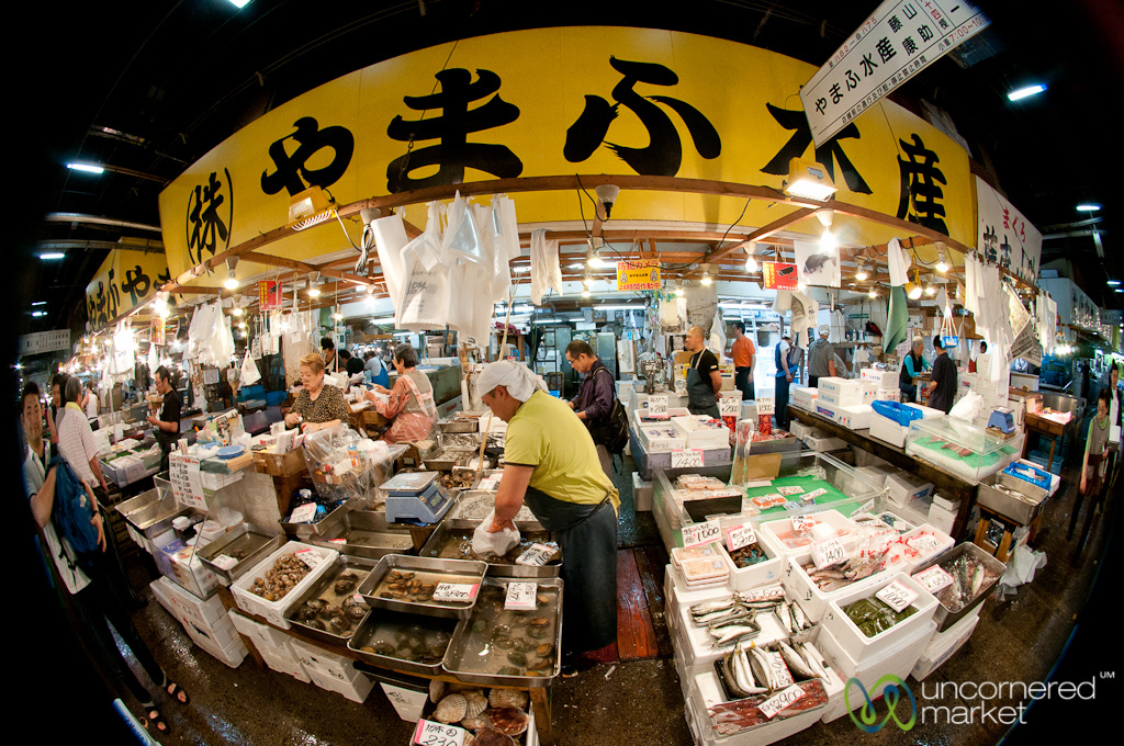48 hours in tokyo g adventures for Tsukiji fish market sushi