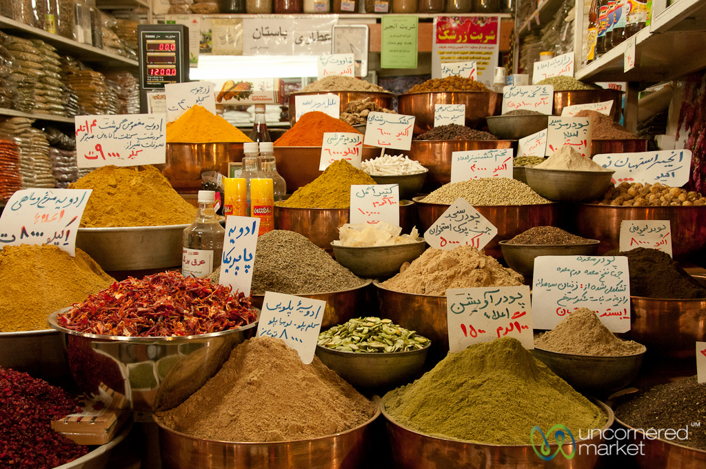 Eating your way through iran g adventures for A treasury of persian cuisine