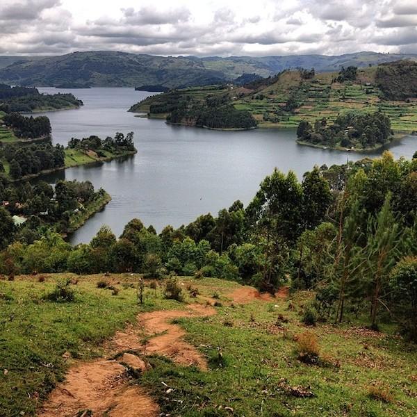 view of Lake Bunyonyi