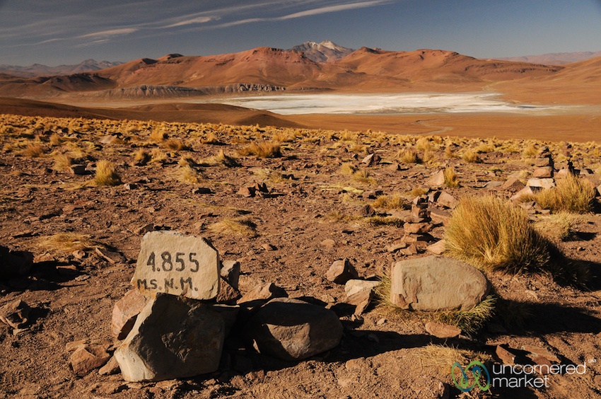 Extreme landscapes, extreme altitudes. This is Bolivia.