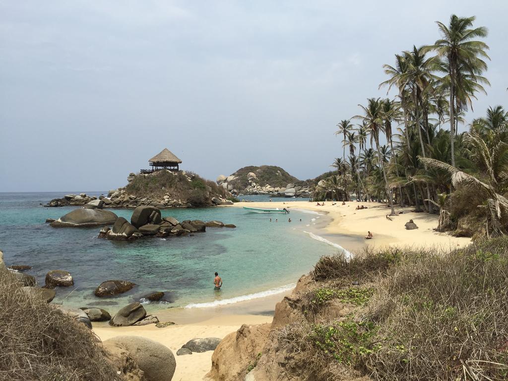 Cabo San Juan beach, a beautiful reward after our hike.