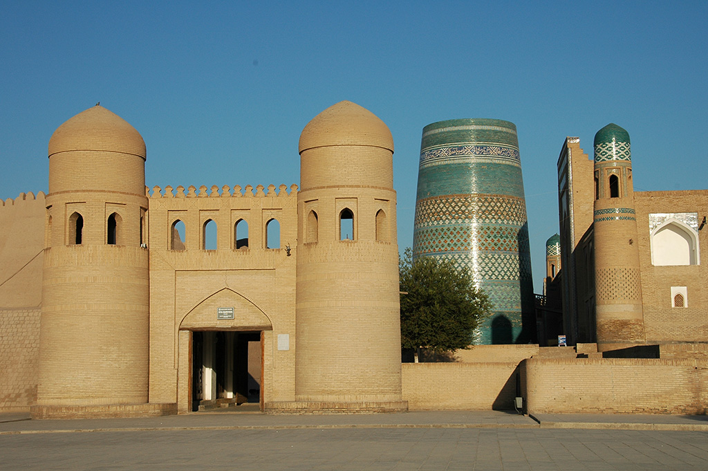 Itchan Kala, Khiva's inner fortress is like an open-air museum today.