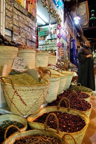Spice Market in Aswan, Egypt