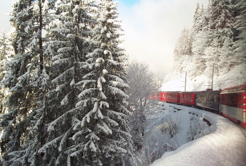 Luxuriate in the panoramas on G Adventures' 13-day 'Europe by Rail with the Glacier Express' adventure.