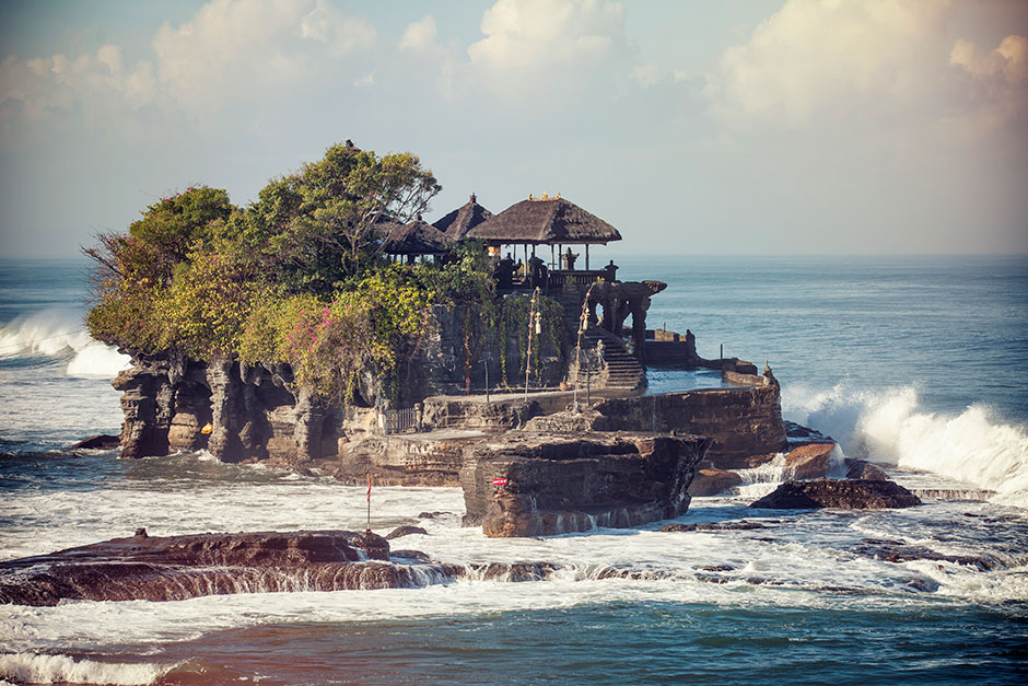 The sea rages around the calm serenity of Tanah Lot Temple in our Pic of the Day.