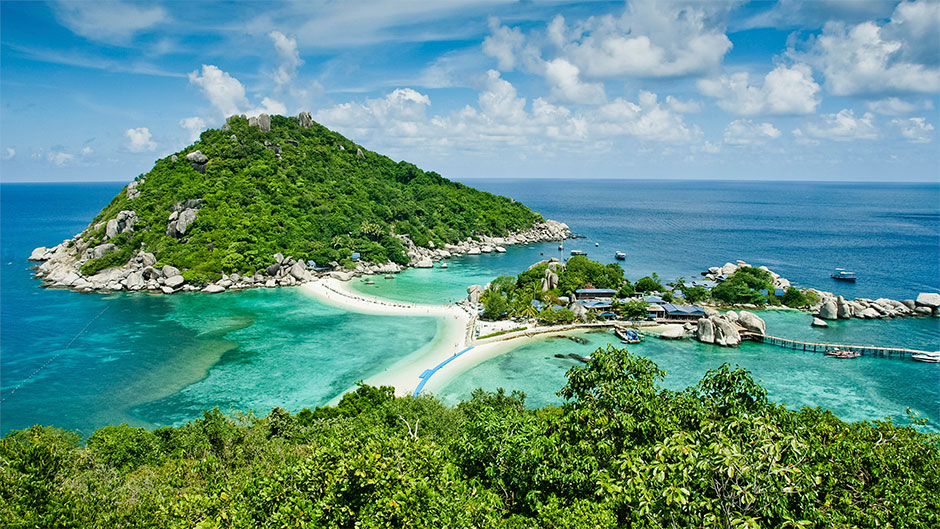 Koh Tao offers some of the best scuba diving in the Gulf of Thailand.