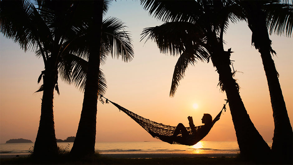 Swing in a hammock or swing all night at Koh Phangan's (in)famous Full Moon Party.