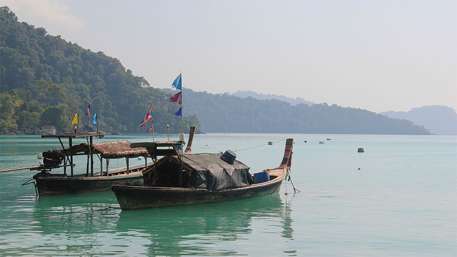 Koh Klang, the home of Thailand's iconic long tail boat.
