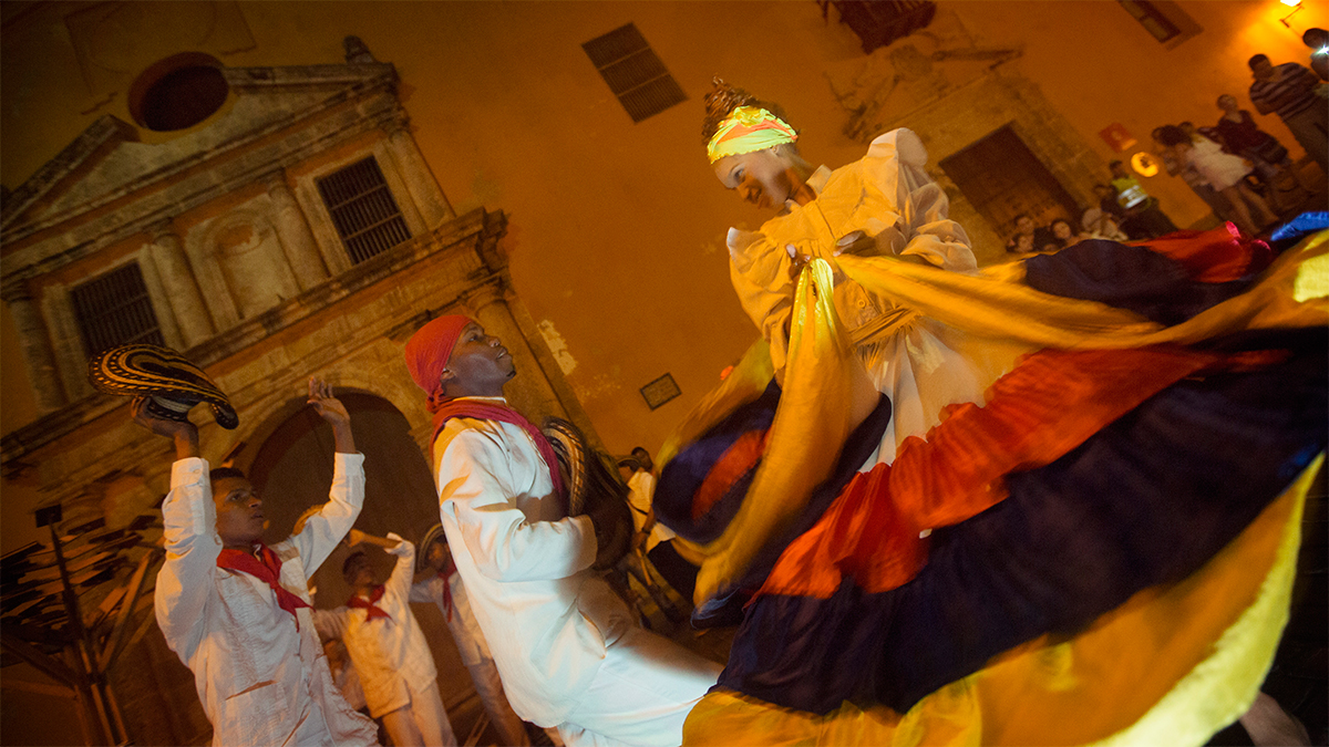 Colombia's one of the happiest nations on Earth.