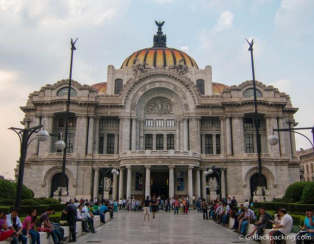 Palace of Fine Arts.