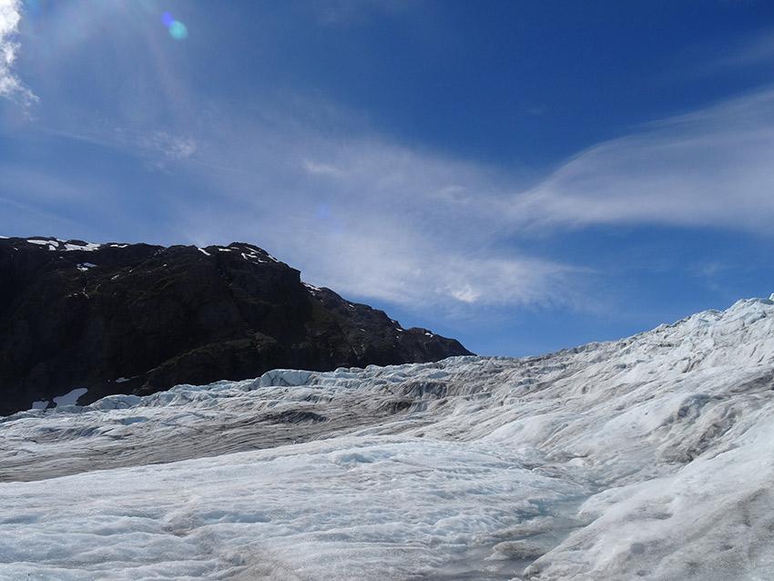 Exit Glacier has an impressive scale.
