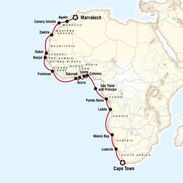 West Africa Cruise with Gary Arndt Week 1  G Adventures