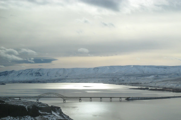 Sweeping views over the Columbia River Gorge. Stop at one of the many lookouts for great views.