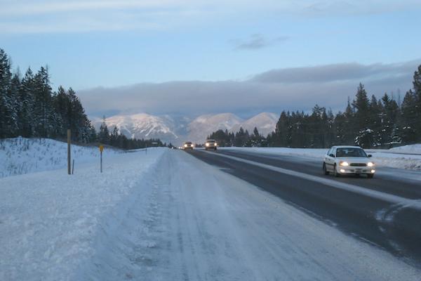 Driving through Idaho and eastern Montana.