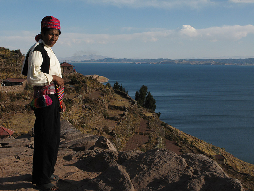 Spending a few days with a Peruvian host family is a great way to live like a local. Lake Titicaca, Peru.