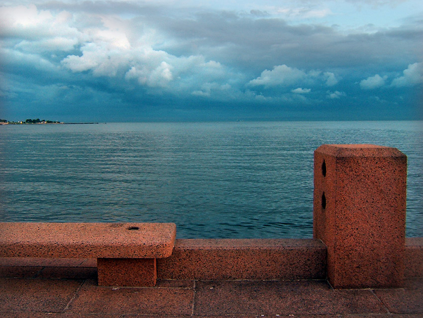 Cast your eyes to the sea with a walk along the city's promenade. Photo courtesy Vince A.