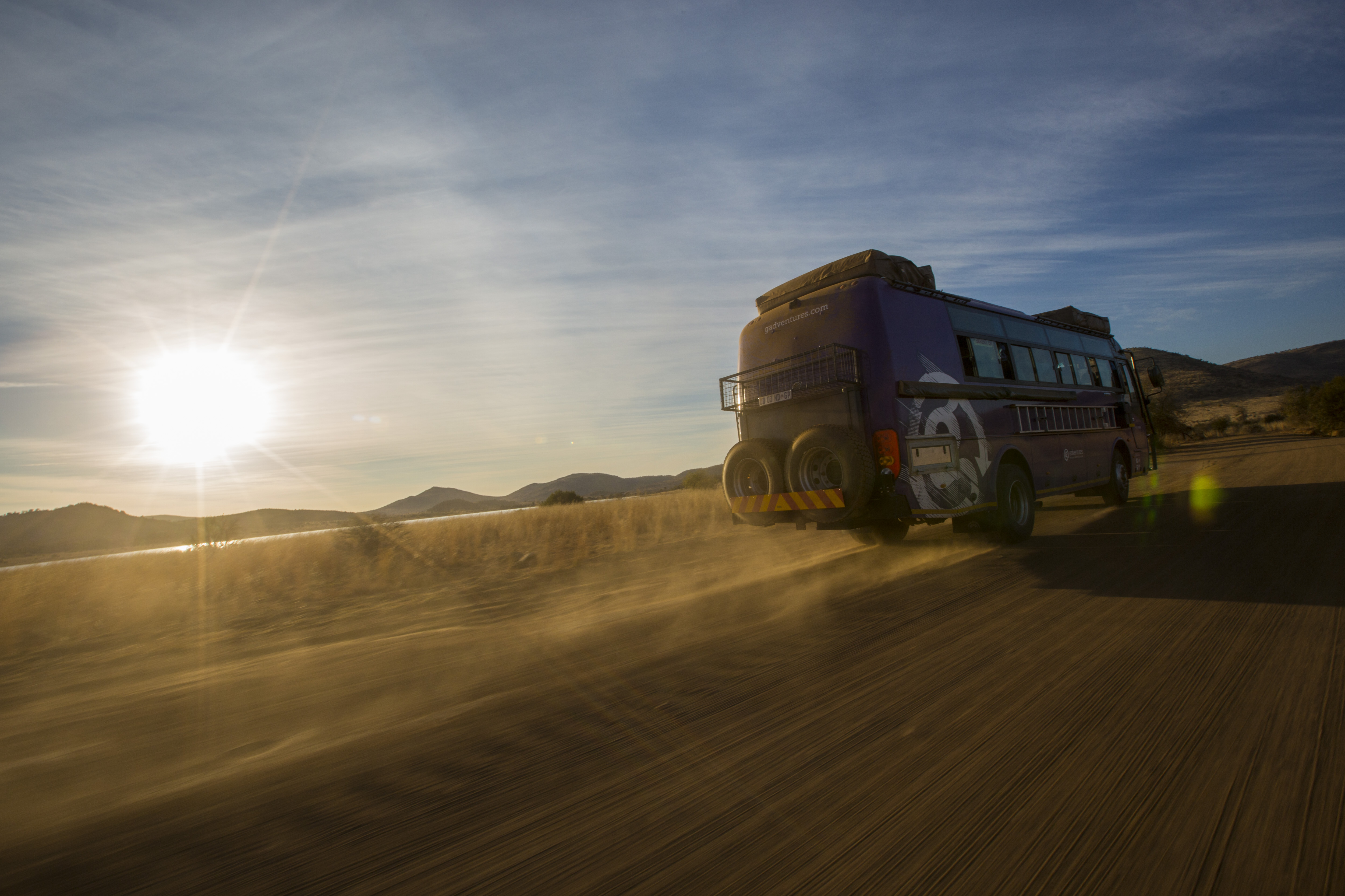 Our overland trucks are specifically designed for the journey.
