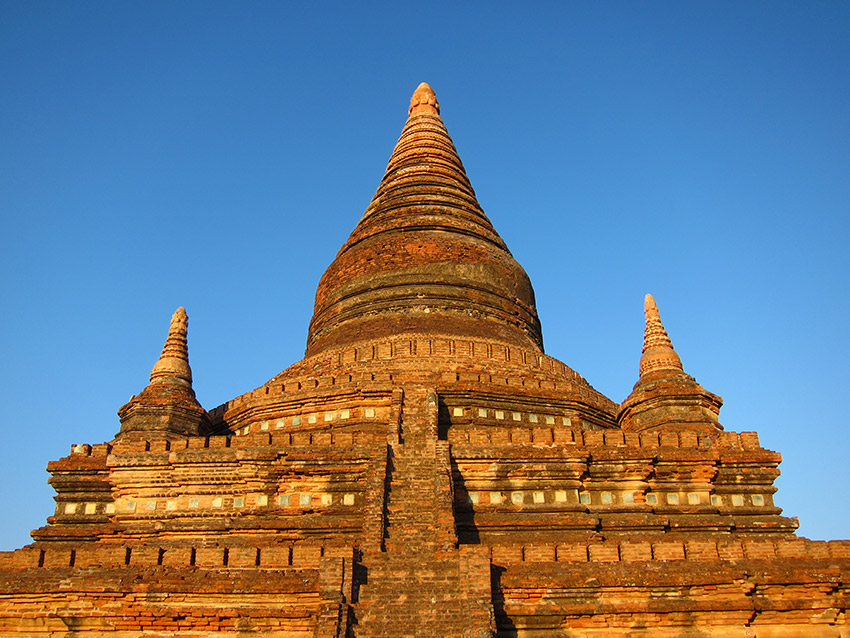 One of Bagan's many temples.