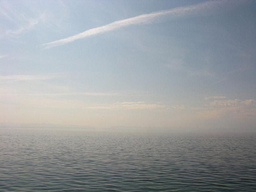 Lake Baikal seemingly never ends.