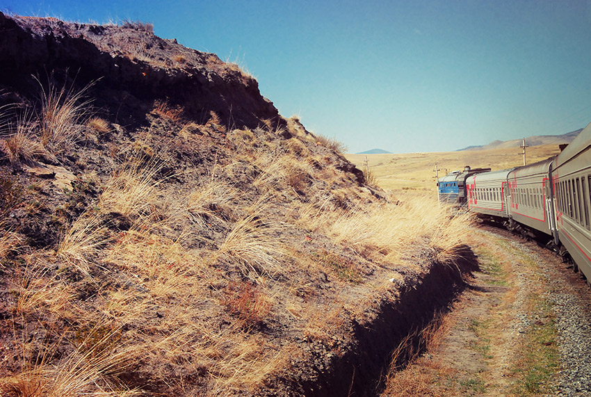 My trip included the Trans-Mongolian route.