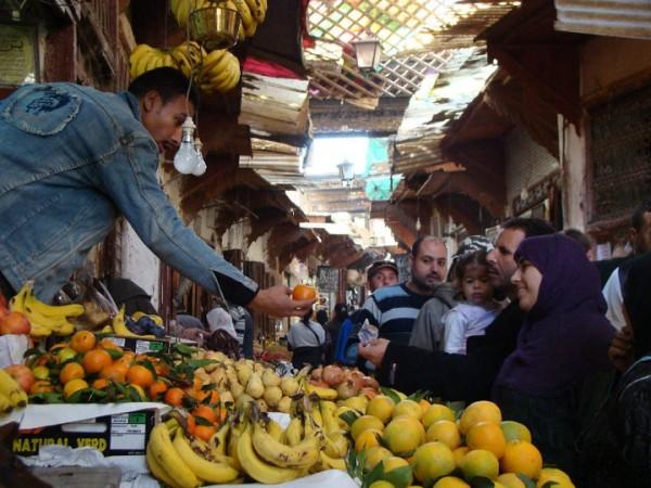 Fez medina. Photo courtesy Kathy Meresz.