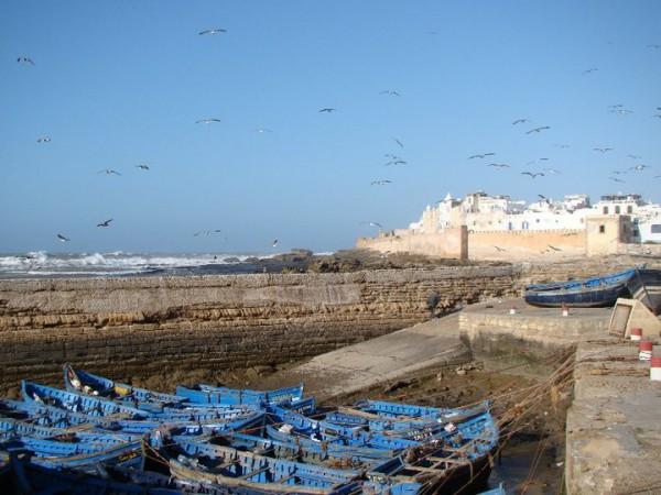 The coastal fishing town of Essaouira. Photo courtesy Kathy Meresz.