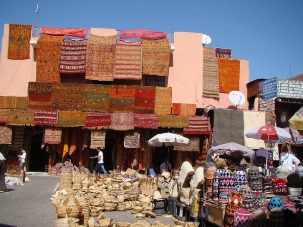 Marrakech medina. Photo courtesy Kathy Meresz.