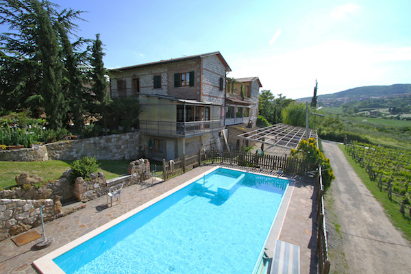 italy property view with pool
