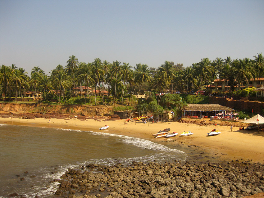 Beat the heat on Goa's many beaches. Photo courtesy Ruben S.