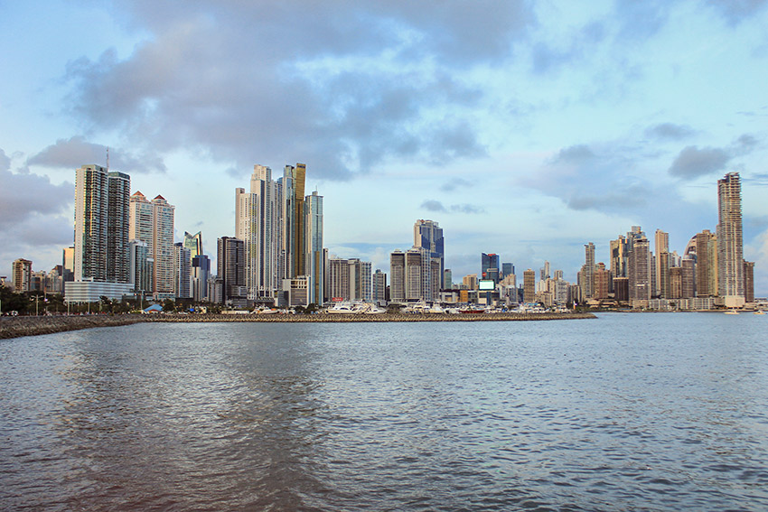 Panama City today is quite modern.