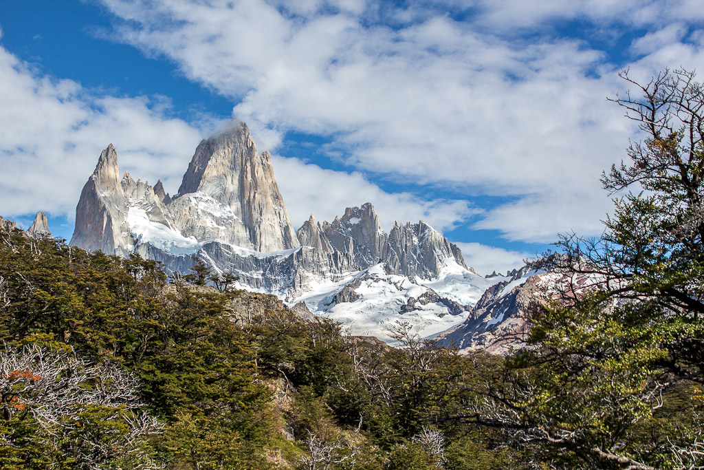 Mt Fitz Roy in Patagonia.