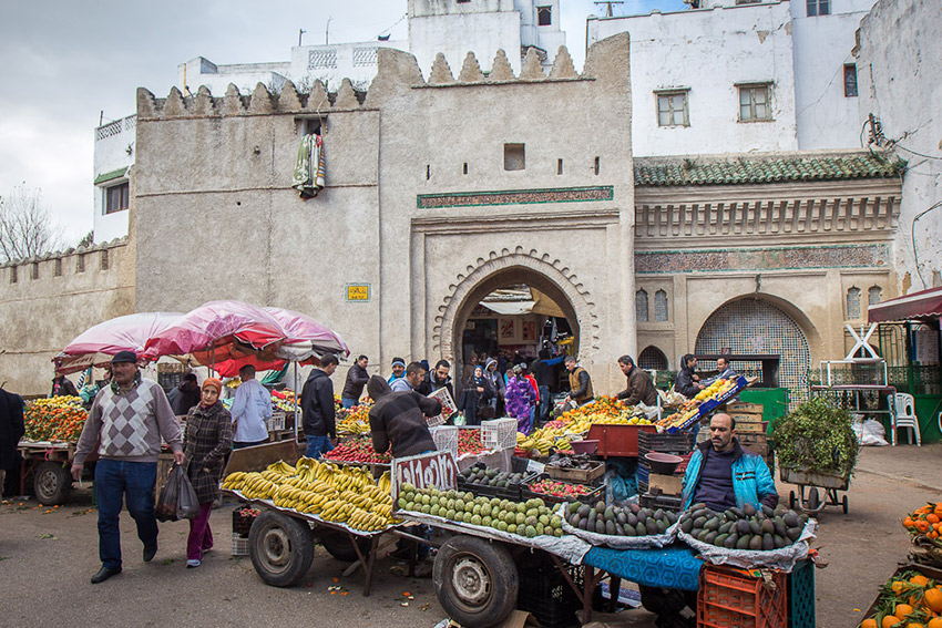Tétouan is one of the smallest remaining old cities in the country.