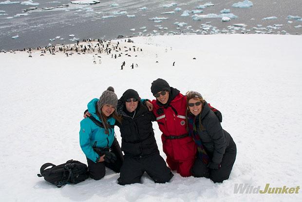 The G team in Antarctica