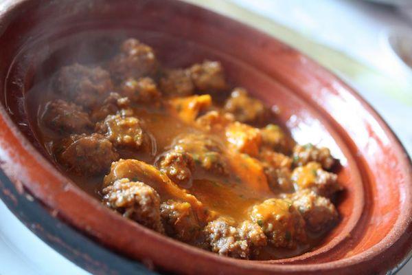 Moroccan lamb meat balls.