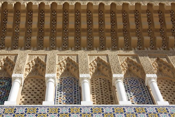 Exterior of a hammam.