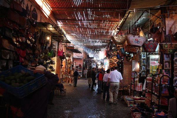 Inside the Medina.