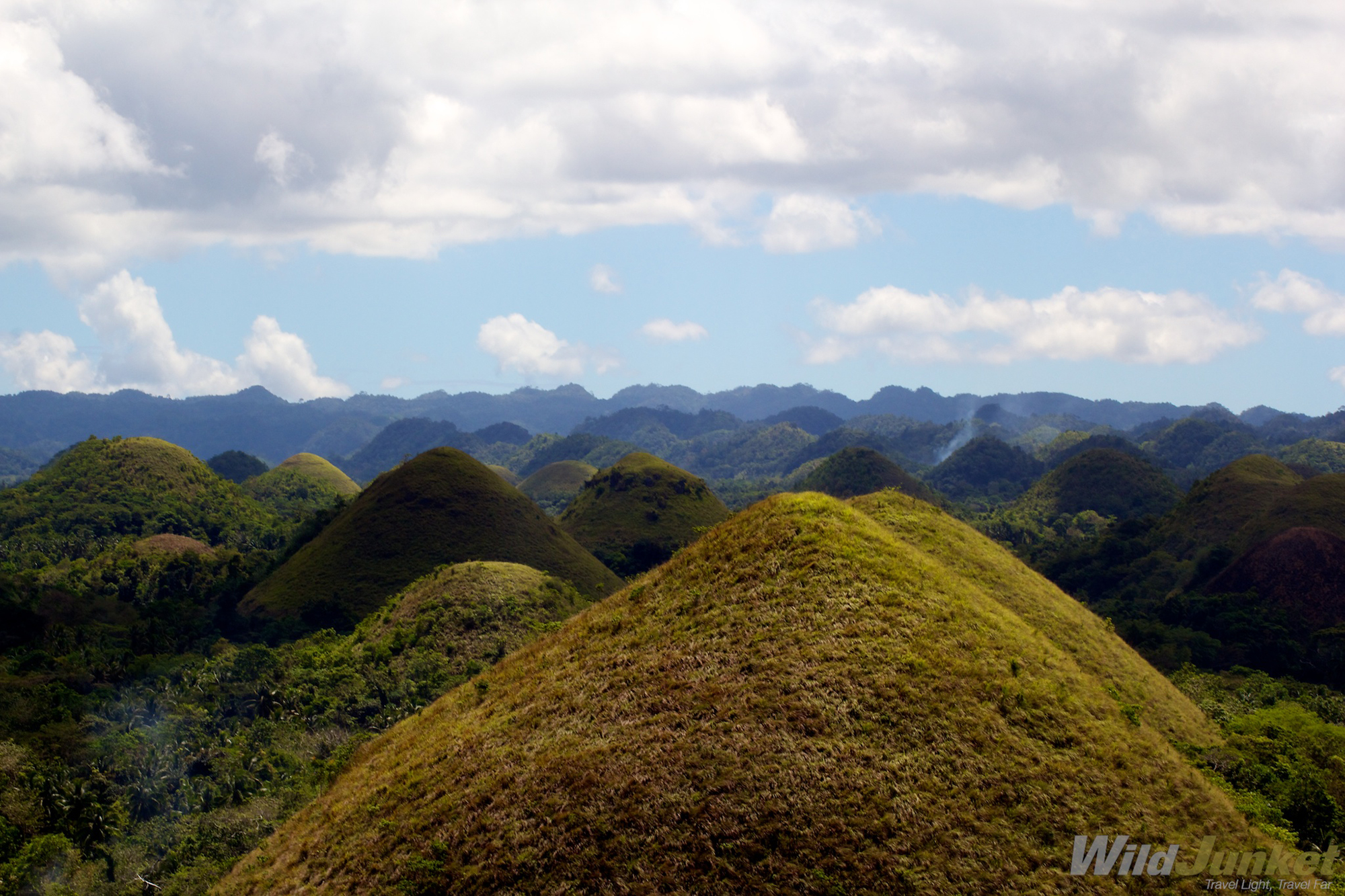 Bohol is the 10th biggest island province in the Philippines.