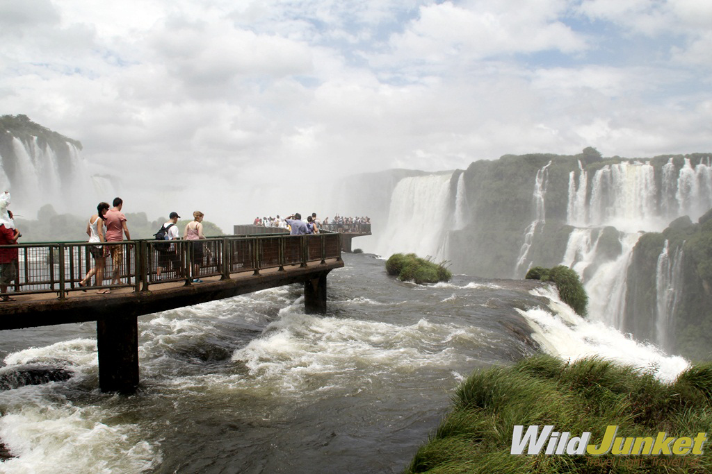 The Brazilian side of the falls needs a half-day to take in.