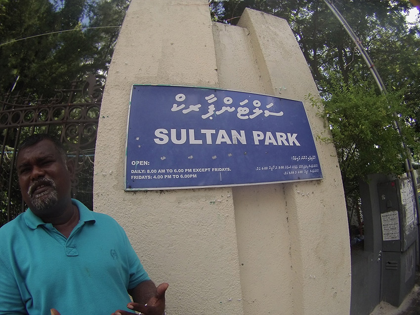 Take a walk through Sultan Park to learn about the city's history.