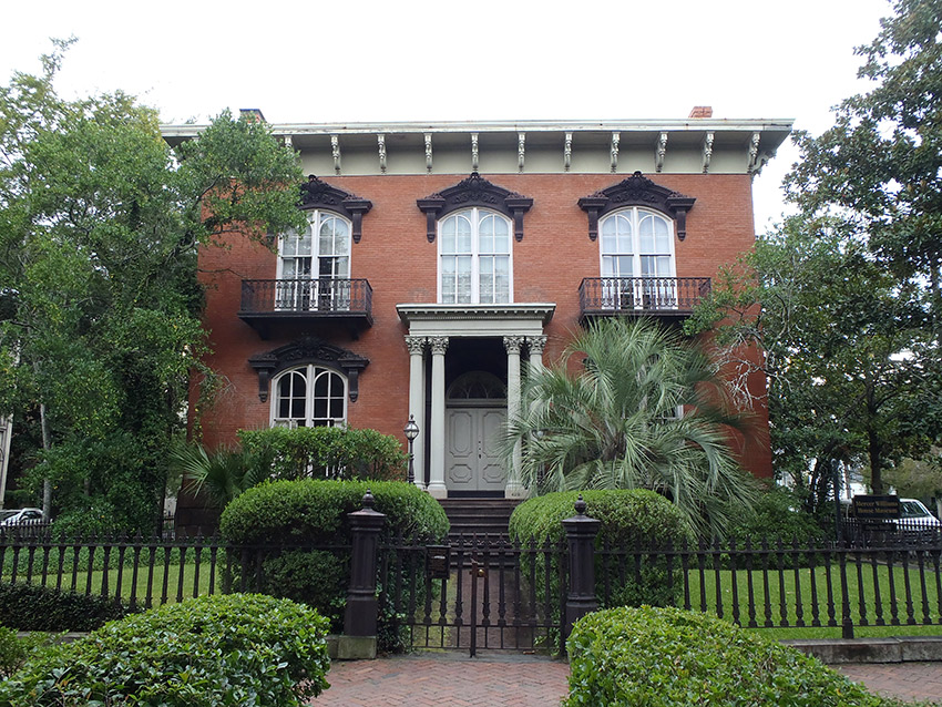 The Mercer Williams House in Savannah.