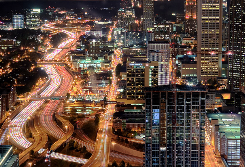The metropolis of Atlanta. Photo courtesy Bret W.