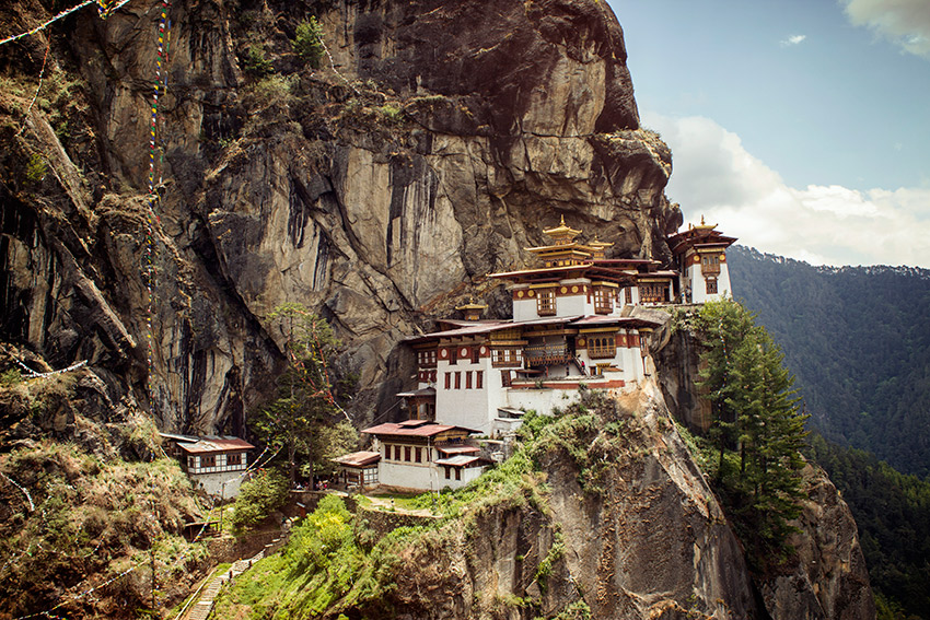 The Tiger's Nest Monastery, Bhutan.