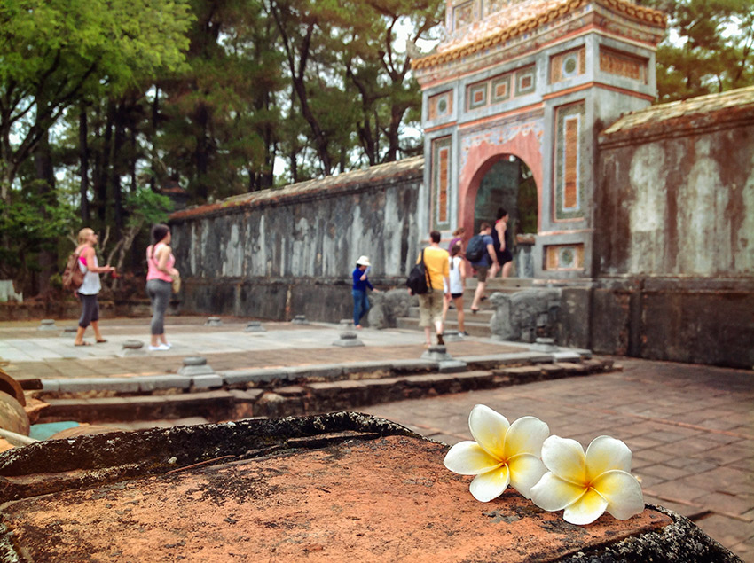 Hue Royal Palace in the Imperial City.