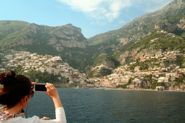 Getting a feel for life along the Amalfi Coast. Photo courtesy Leah Griffin.