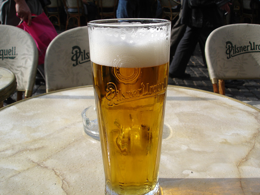 Czech beer is some of the best in the world. Photo courtesy Pablo M.