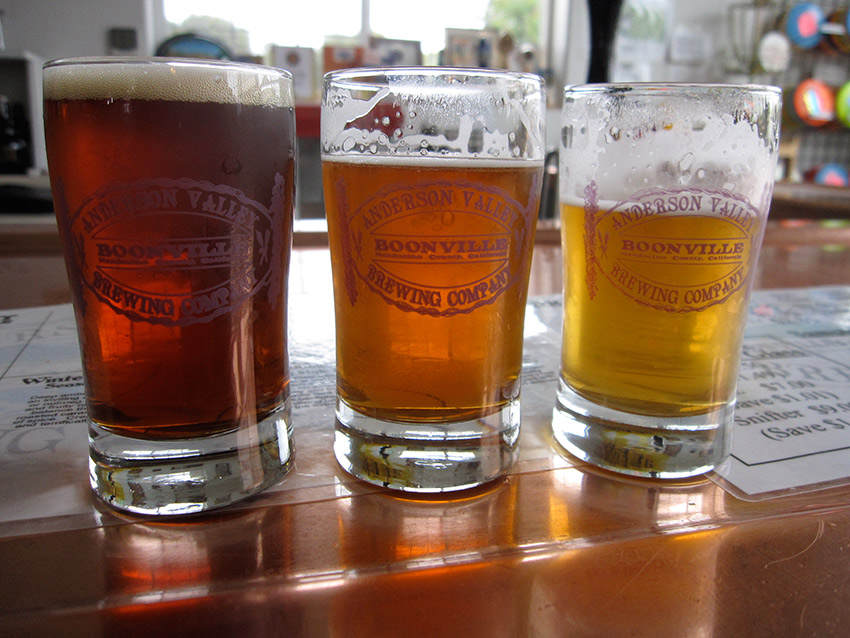 Anderson Valley Brewing Company in Boonville is a must-visit. Photo courtesy therogers.