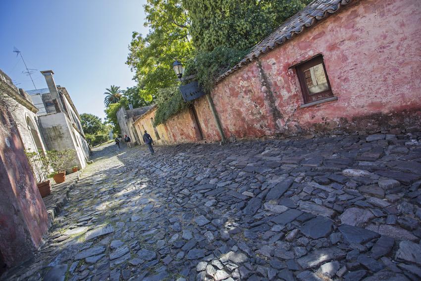 The cobblestones of Colonia.