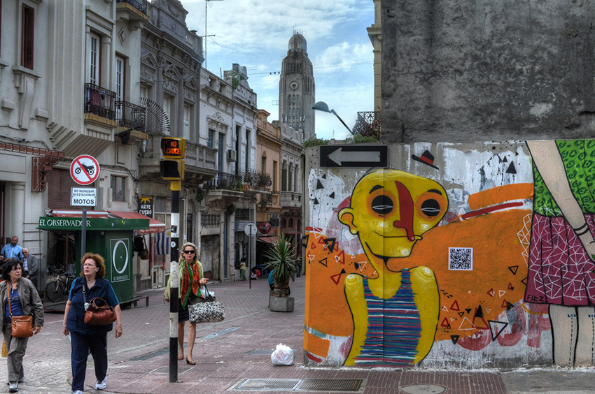 Step outside to see Montevideo's burgeoning street art scene. Photo courtesy Stephen D.