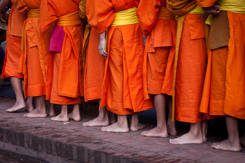 Buddhism is ever present in daily life in Laos. Photo courtesy Jurriaan P.